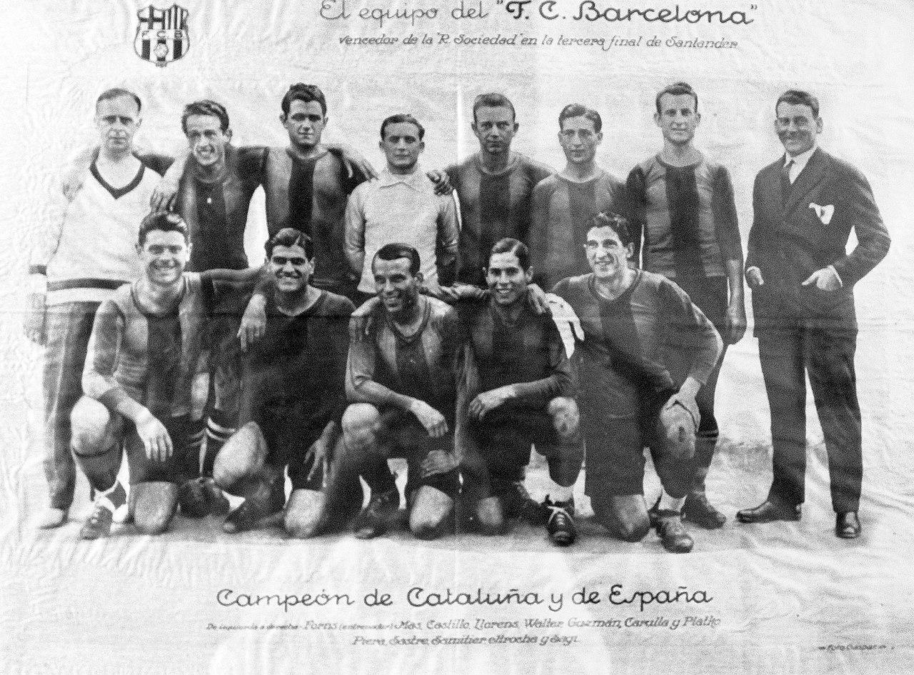 Plantilla FC Barcelona 1928-1929