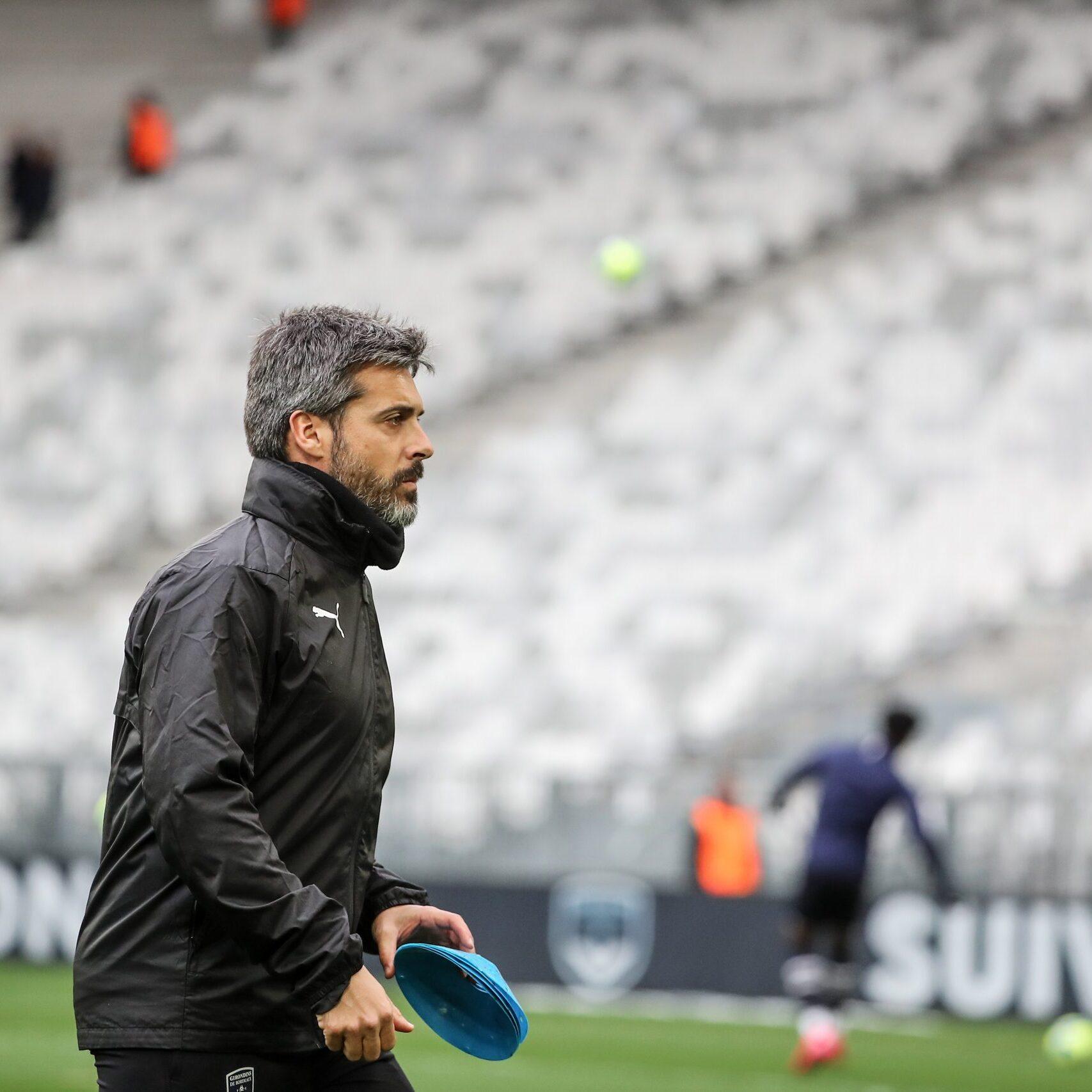 Lluís Sala preparador físic al Girondins
